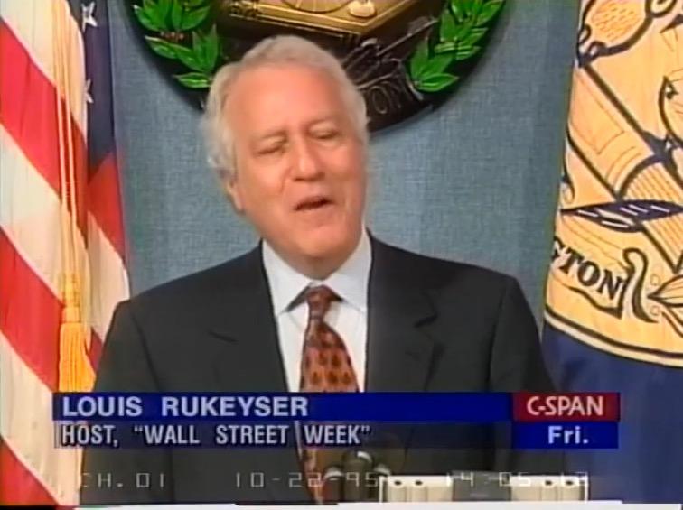 Press Club: Louis Rukeyser; Host of Wall Street Week : National Press Club : Free Download ...