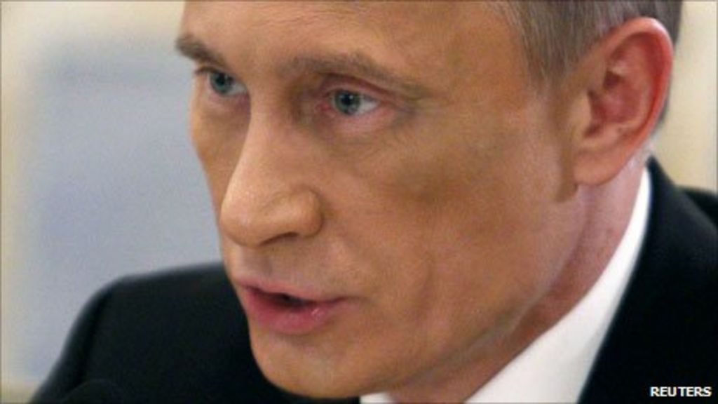 Putin 'black eye' sparks rumours in Russia and Ukraine ...