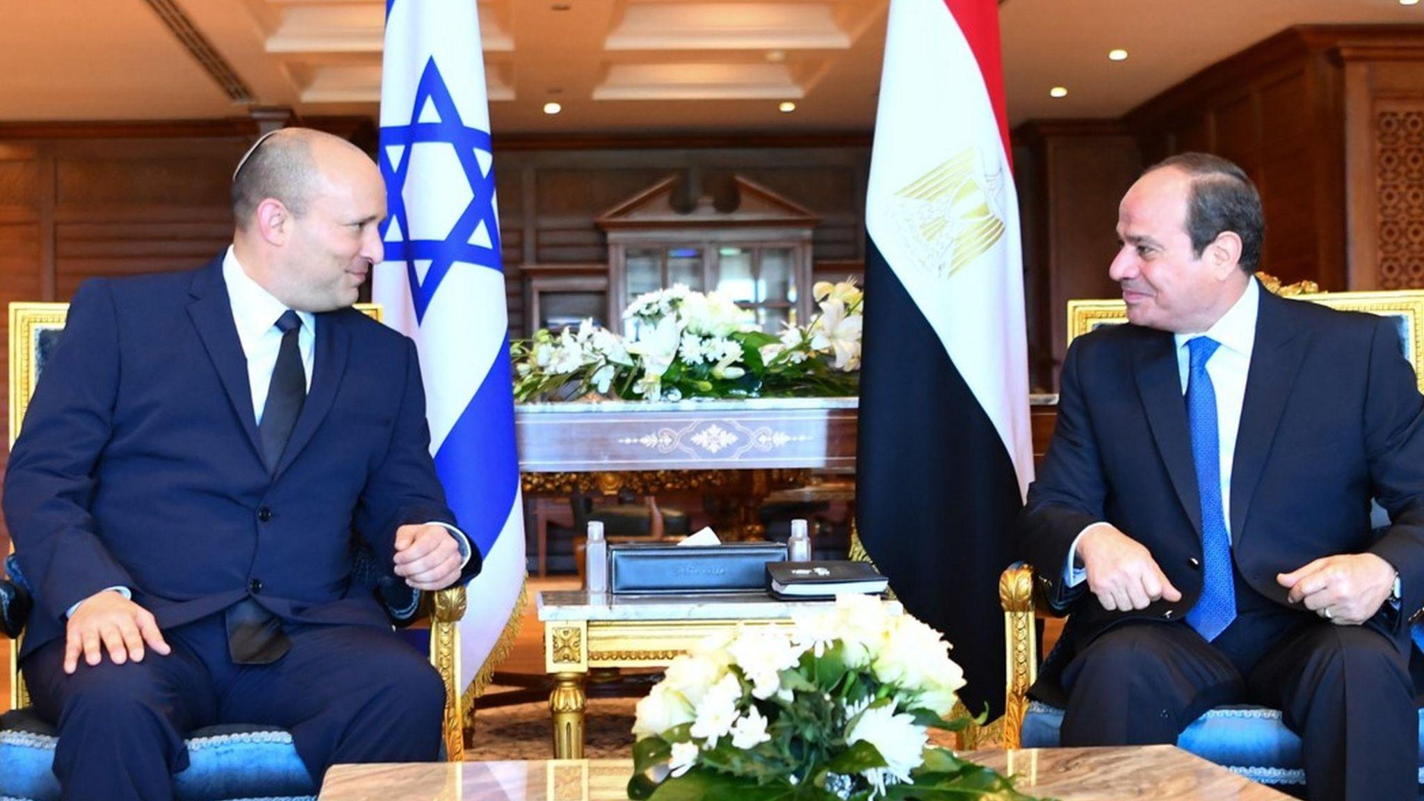 Naftali Bennett makes first visit to Egypt by an Israeli ...