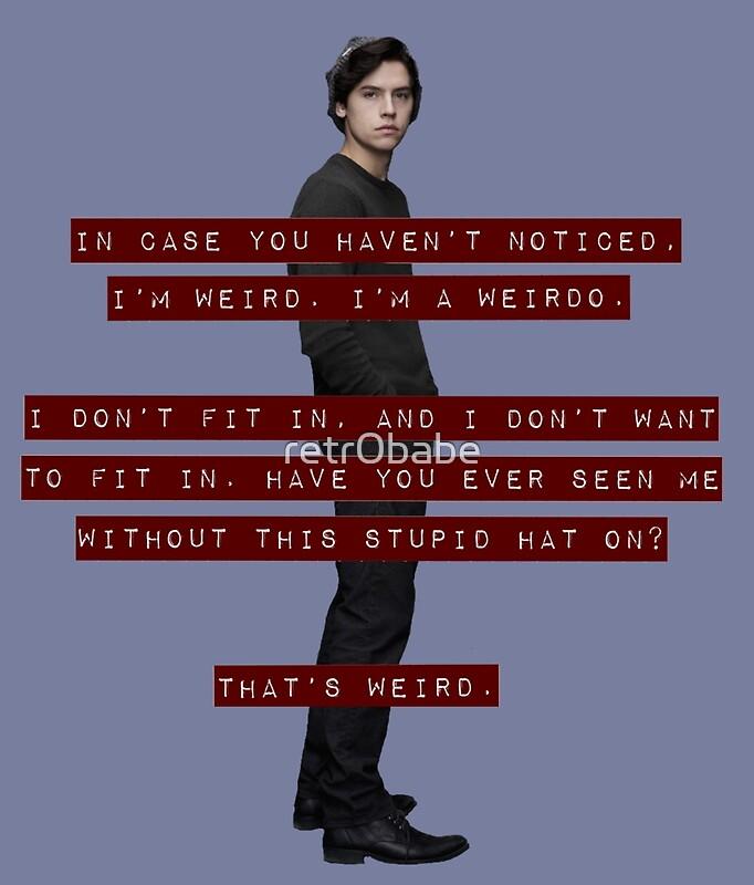 """I'm A Weirdo - Jughead Jones"" Posters by retr0babe ..."