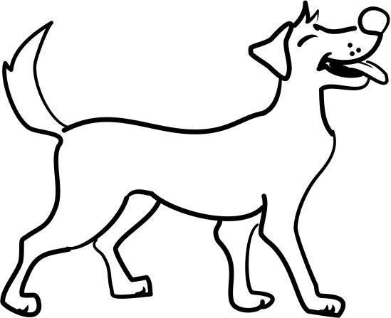Cane ( stile cartone animato) | Disegno Libero....