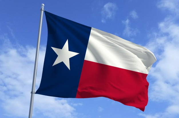 Texas flagge | Premium-Foto