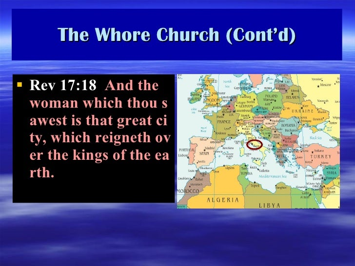 Revelation Ch. 17 And 18