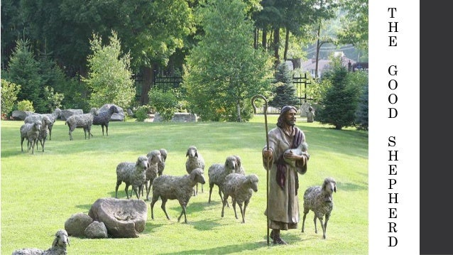 the good shepherd once there was a good shepherd who
