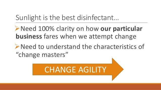 Agile enterprises, creating a growth culture, and changing ...