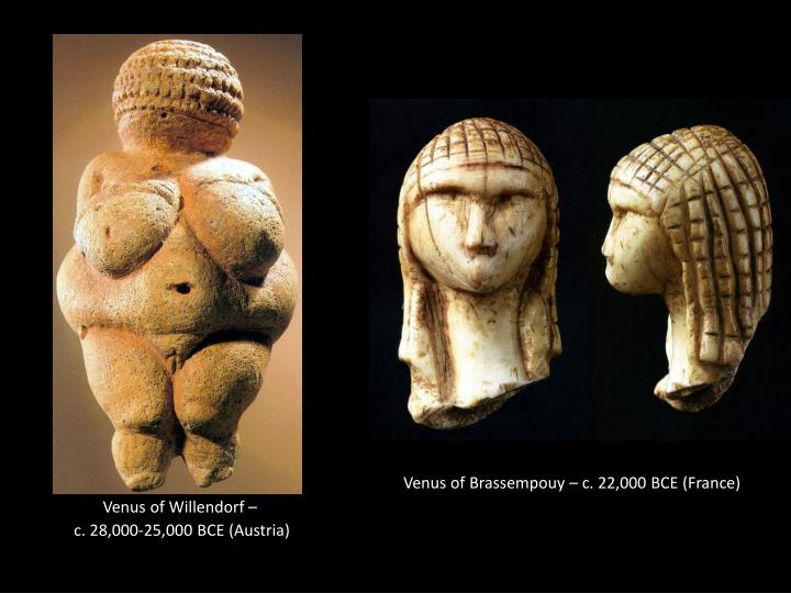 PPT - Venus of Willendorf – c . 28,000-25,000 BCE (Austria ...
