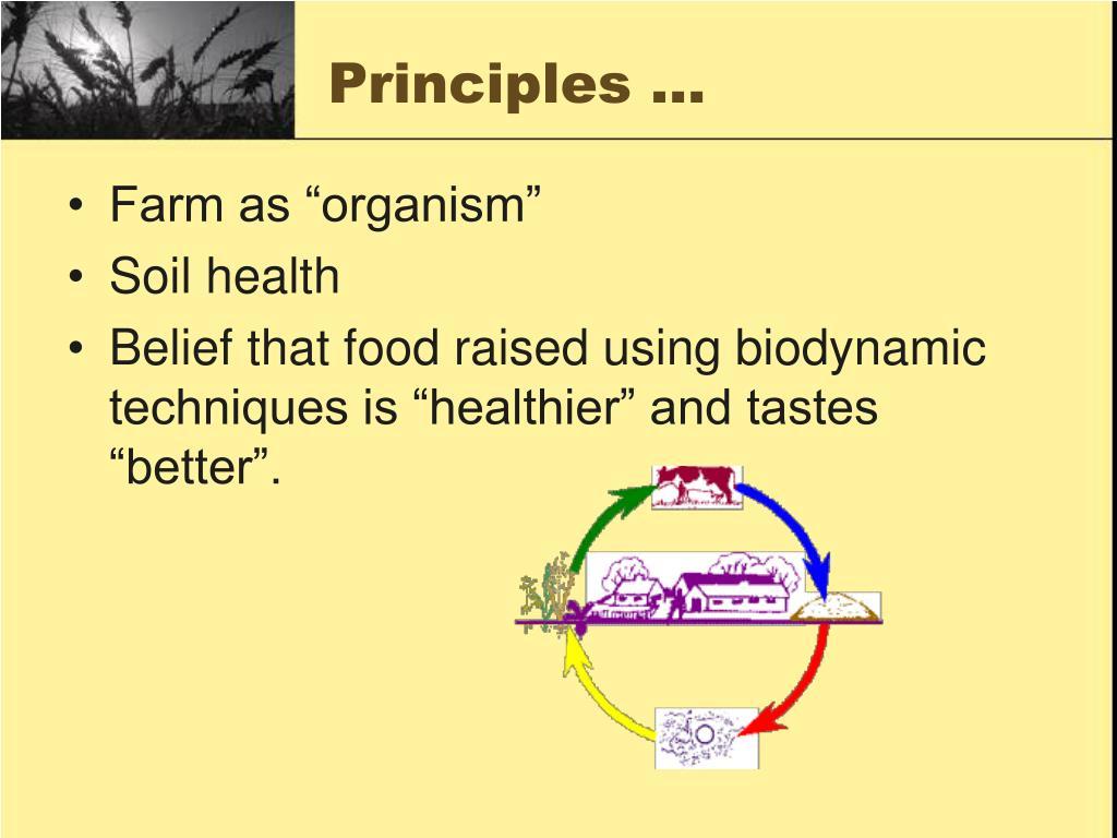 PPT - Biodynamic Farming PowerPoint Presentation, free ...