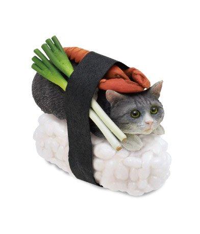 """Nekozushi"" Sushi Cat Blind Box Figure - otakukami.com"