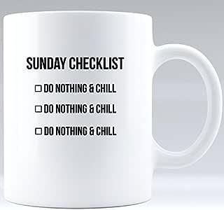 Amazon.com | Motivational coffee mug - Sunday checklist ...