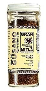 Amazon.com : Gran Mitla Sal de Gusano 100 Gram Jar ...