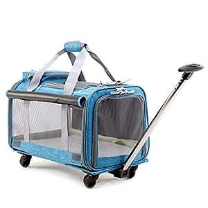 Amazon.com : Pet Carrier Stroller, Soft-Sided Pet Travel ...