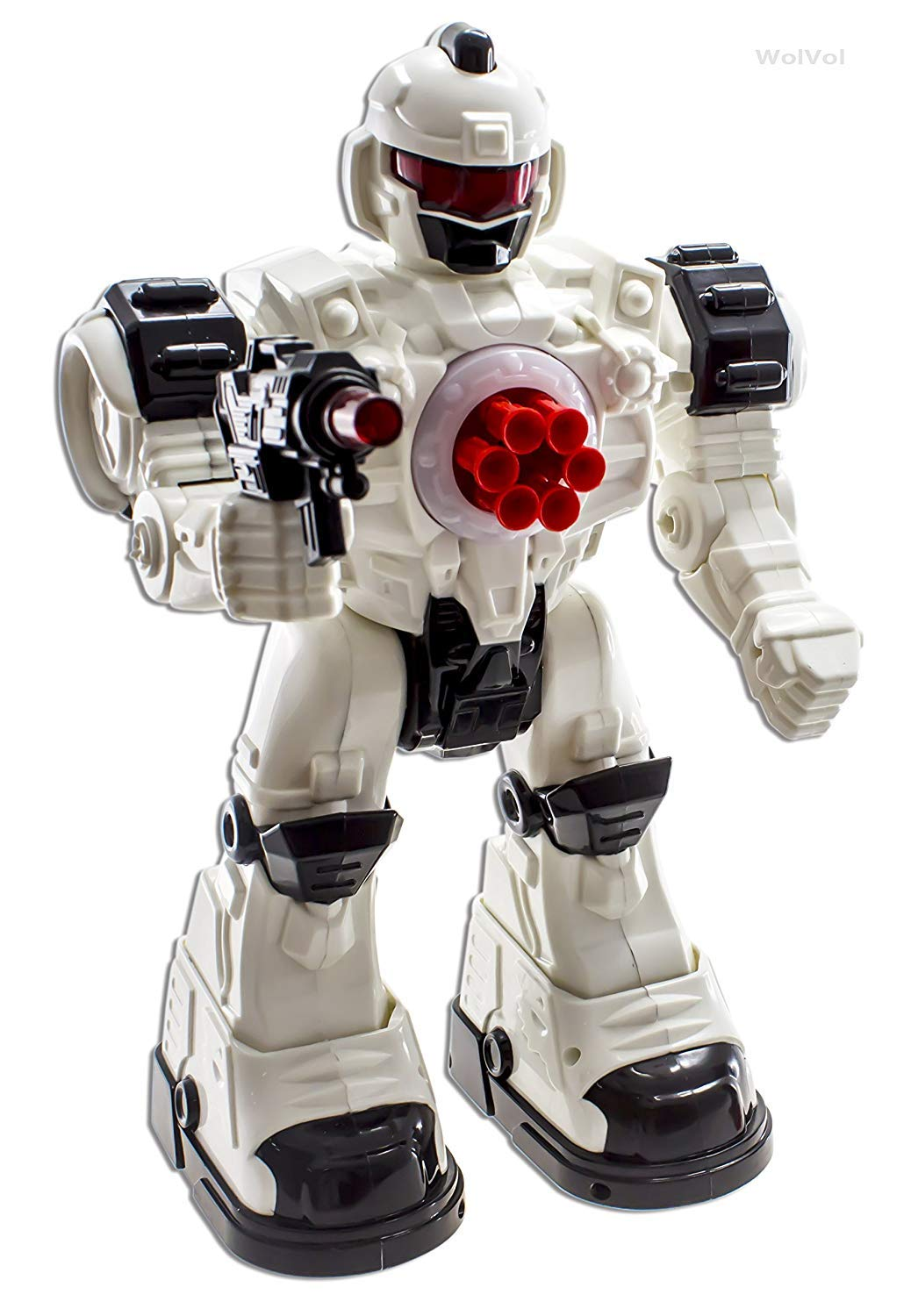 WolVol (Large Version) 10 Channel Remote Control Robot ...