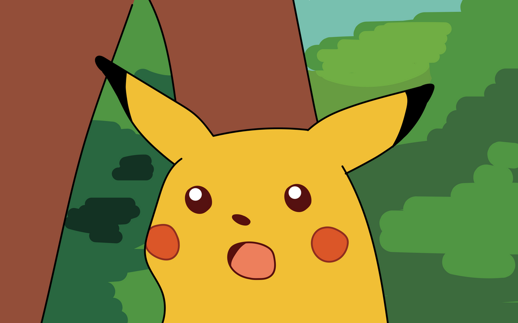 Surprised Pikachu HD wallpaper - remastered by thorofi on ...