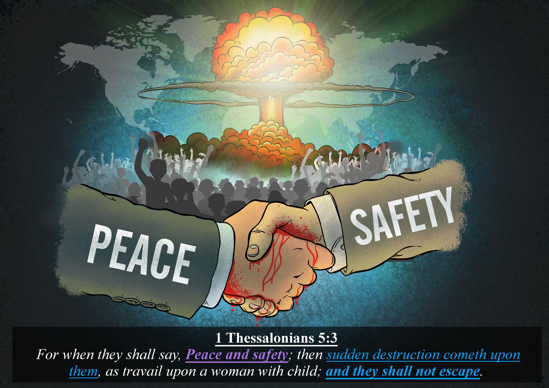 1 thessalonians 5:3 by alexpixels on DeviantArt