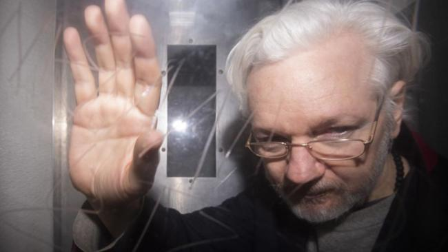 Assange moved out of solitary in UK prison…
