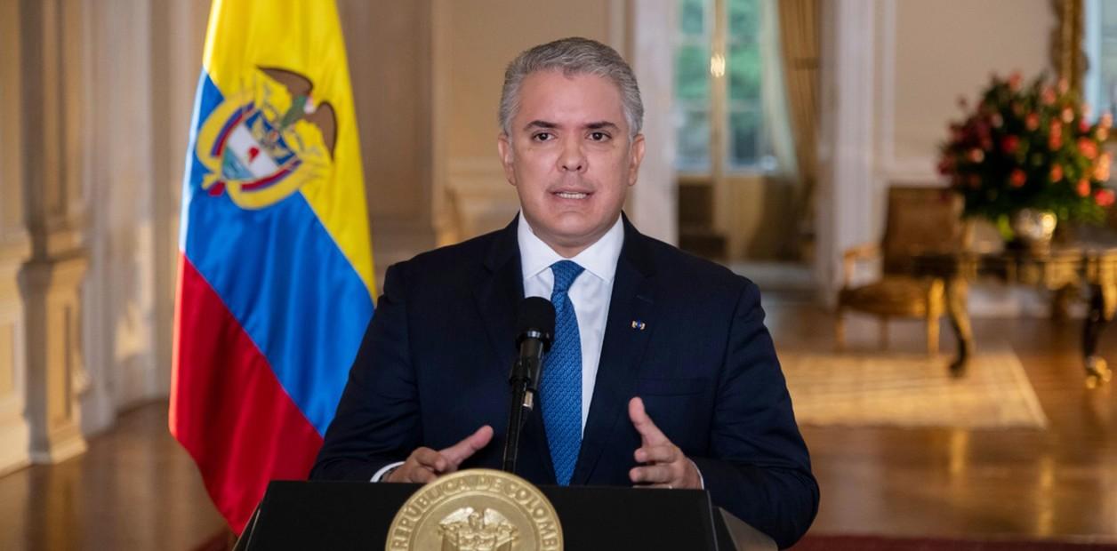 Violencia en Colombia: Iván Duque llama al diálogo en ...