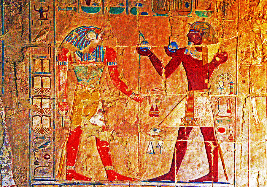Egyptology Photograph by Dennis Cox