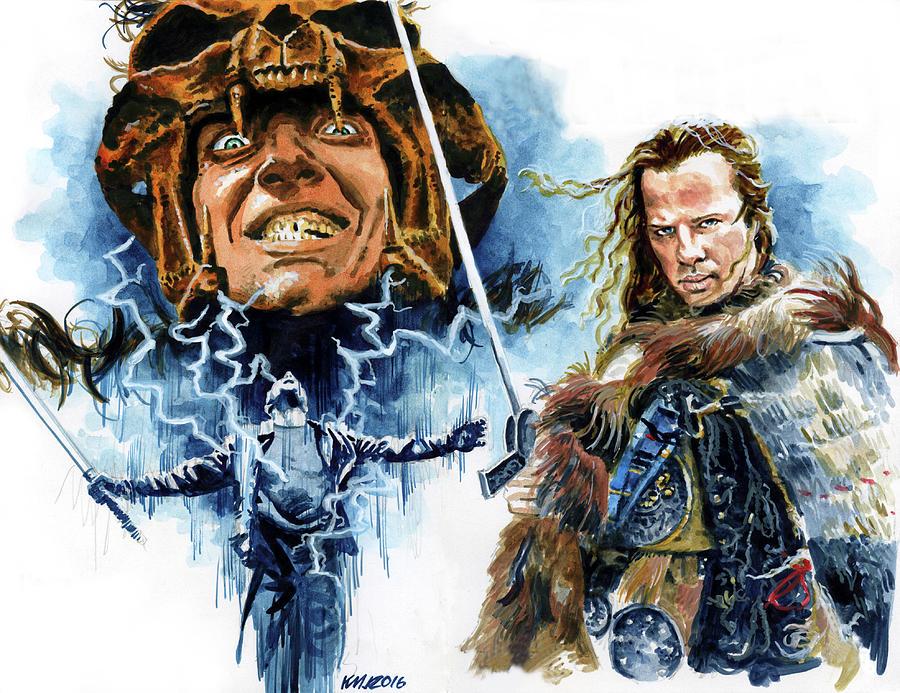 Highlander Painting by Ken Meyer jr