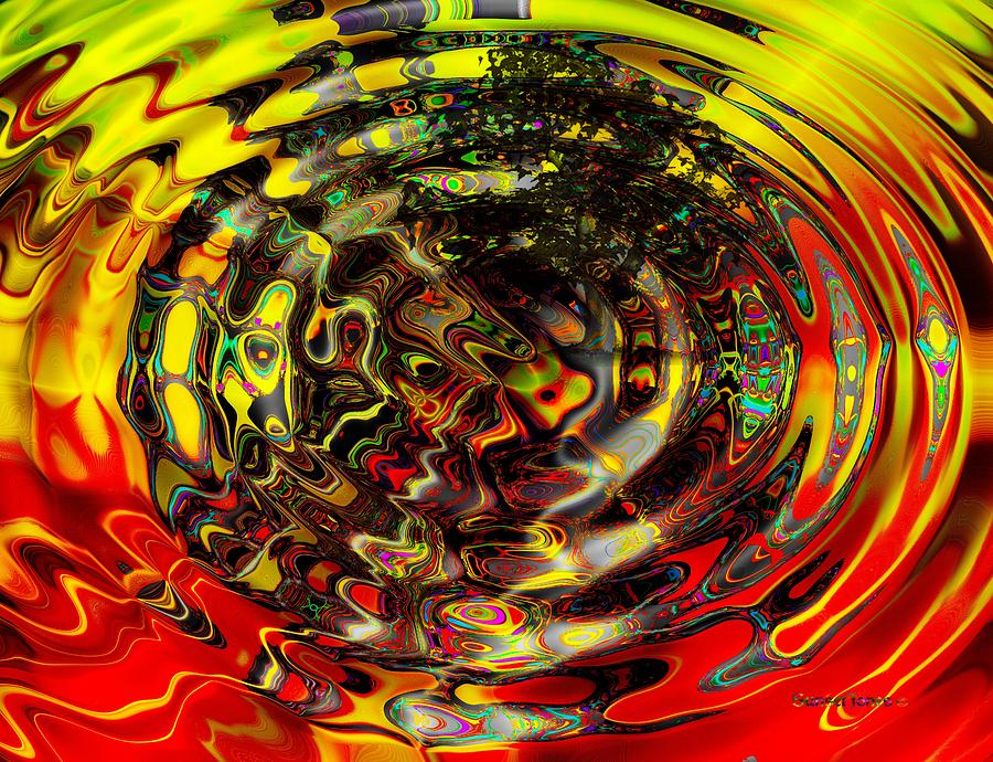 Extra Sensory Perception Digital Art by Robert Orinski