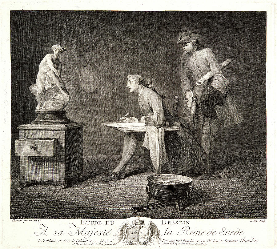 Jacques Philippe Le Bas French, 1707-1783 Drawing by Litz ...