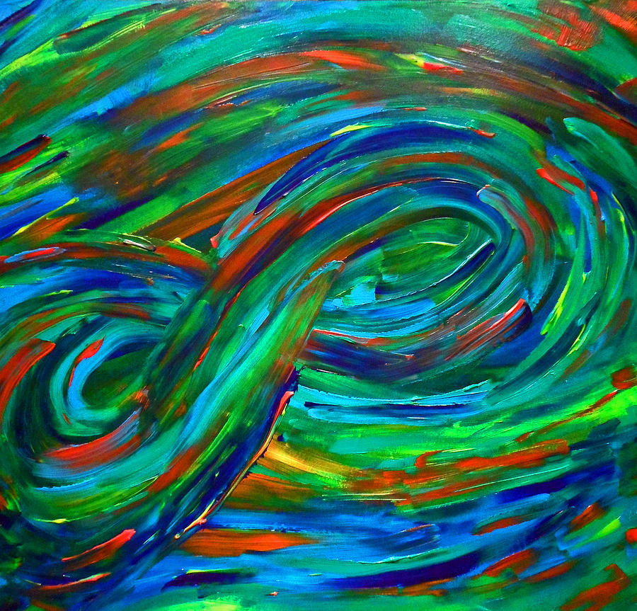 Infinity Painting by Cyryn Fyrcyd