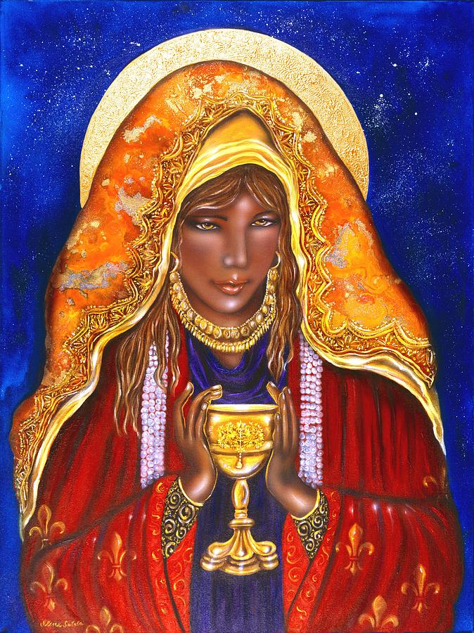 Mary Magdalene Painting by Ilene Satala