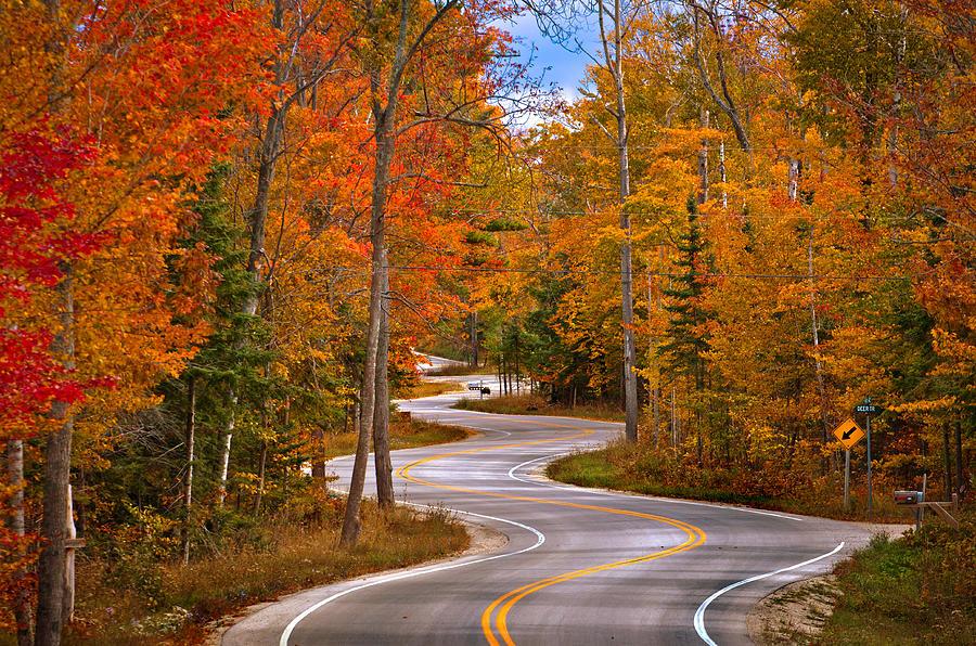 Twisty Road Photograph by Kurt Warner