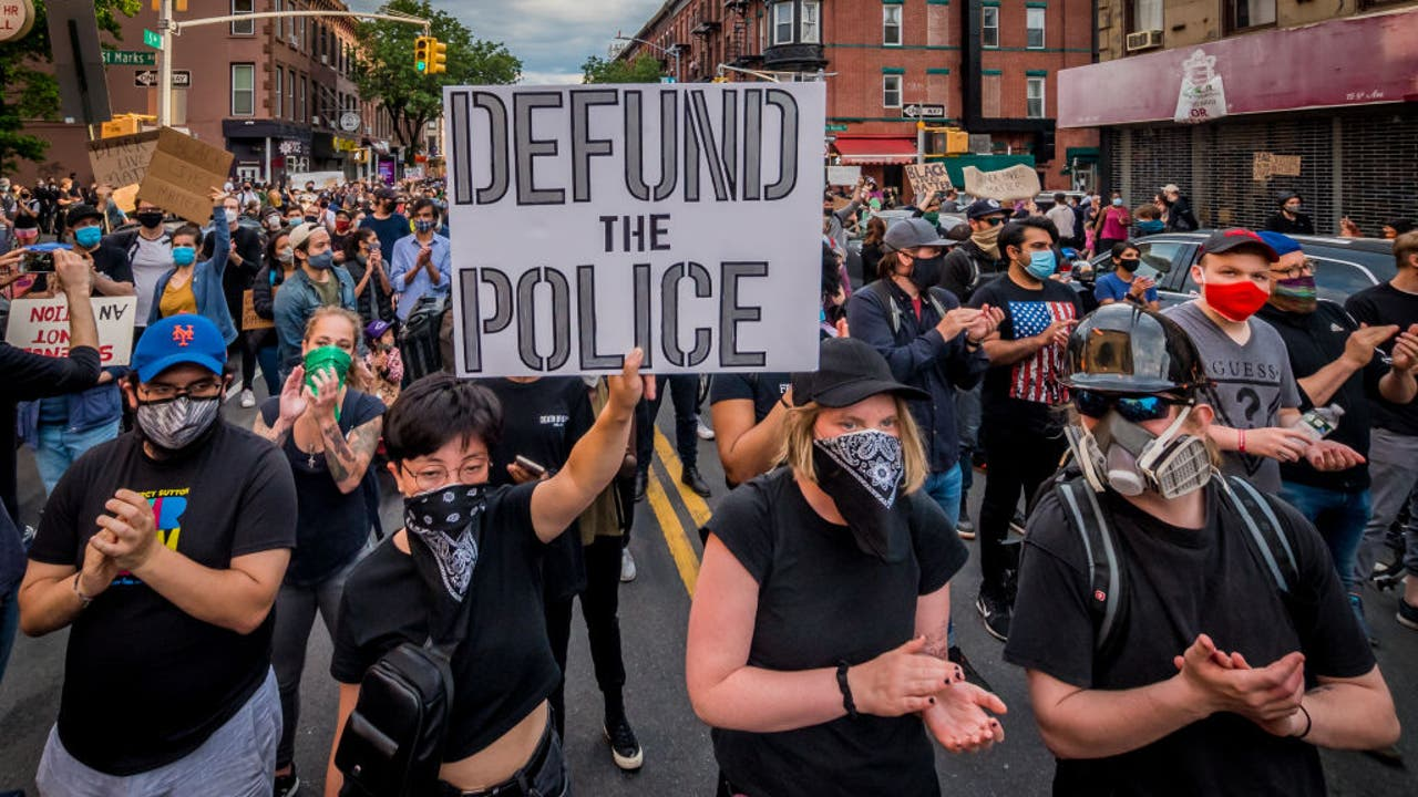 When protesters cry 'defund the police,' what does it mean ...