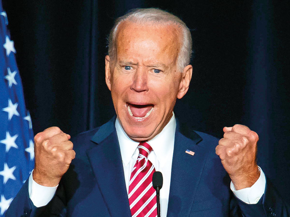 Ex-lawmaker says Joe Biden inappropriately touched her in 2014