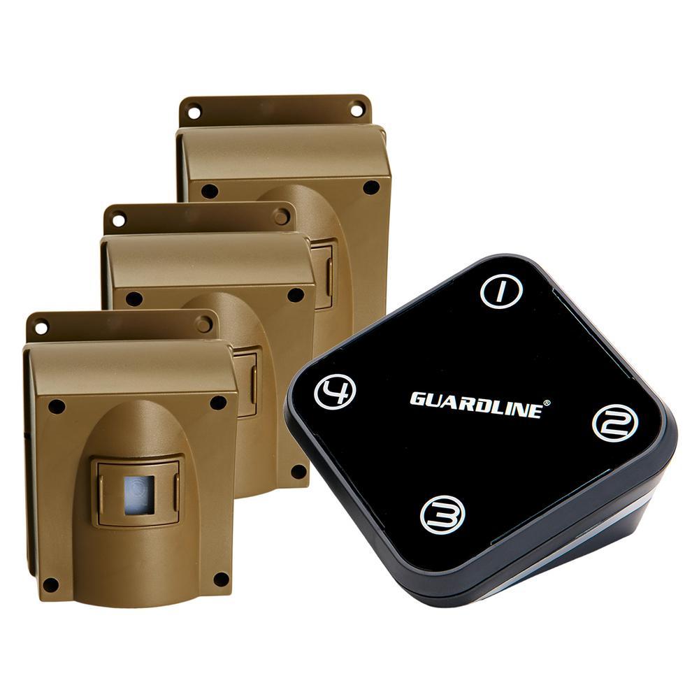 Guardline Wireless Driveway Alarm with 3-Sensor Kit-GL2002 ...