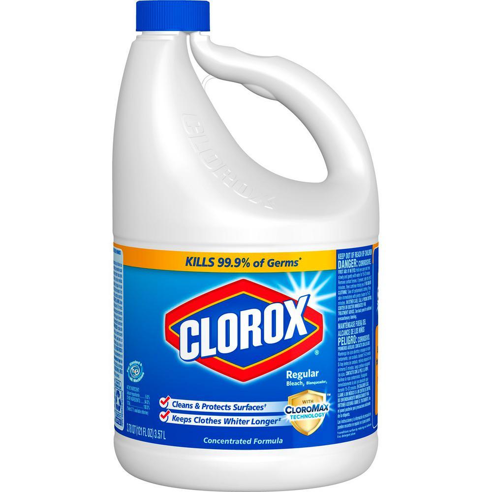 Clorox 121 oz. Regular Concentrated Liquid Bleach ...