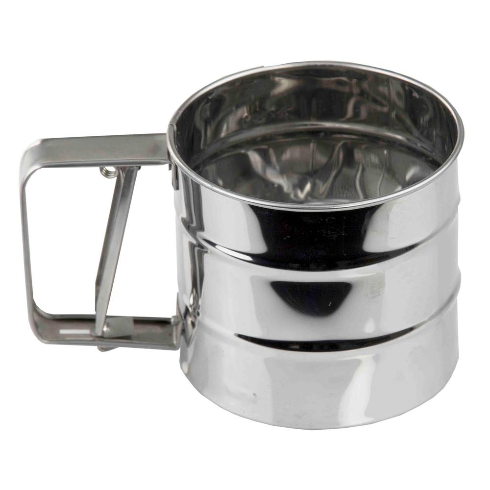 Home Basics Stainless Steel Flour Sifter-KT44292 - The ...