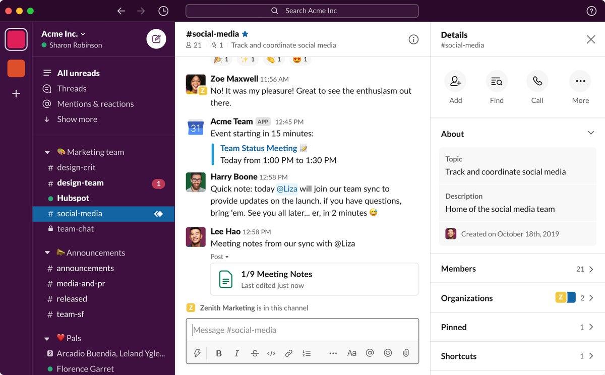 Slack targets non-tech users with UI design tweaks ...
