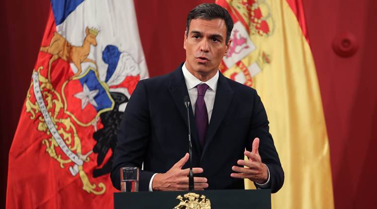 """Spain PM Sanchez warns EU """"will fail"""" if they don't approach the pandemic as a whole…"""