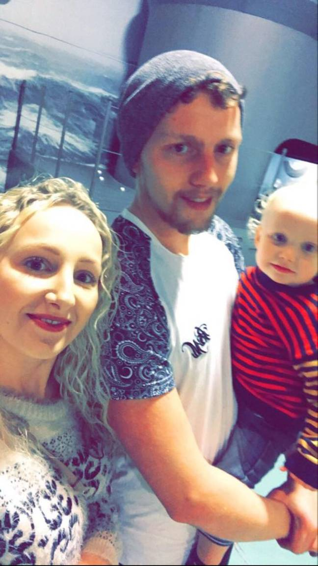Mum Left 'Sick' After Spotting 'Ghost Girl' Photobombing ...