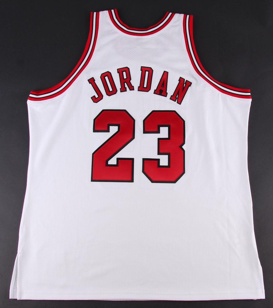 Michael Jordan Signed Limited Edition Bulls Authentic Mitchell & Ness Jersey #23/123 (UDA COA ...