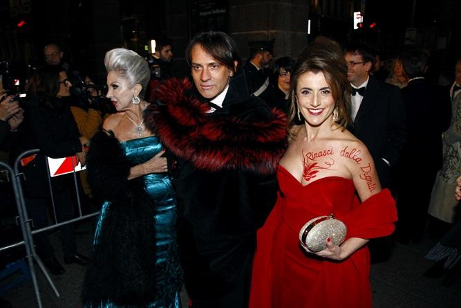 Prima della Scala: tutti i look degli ospiti alla soirée