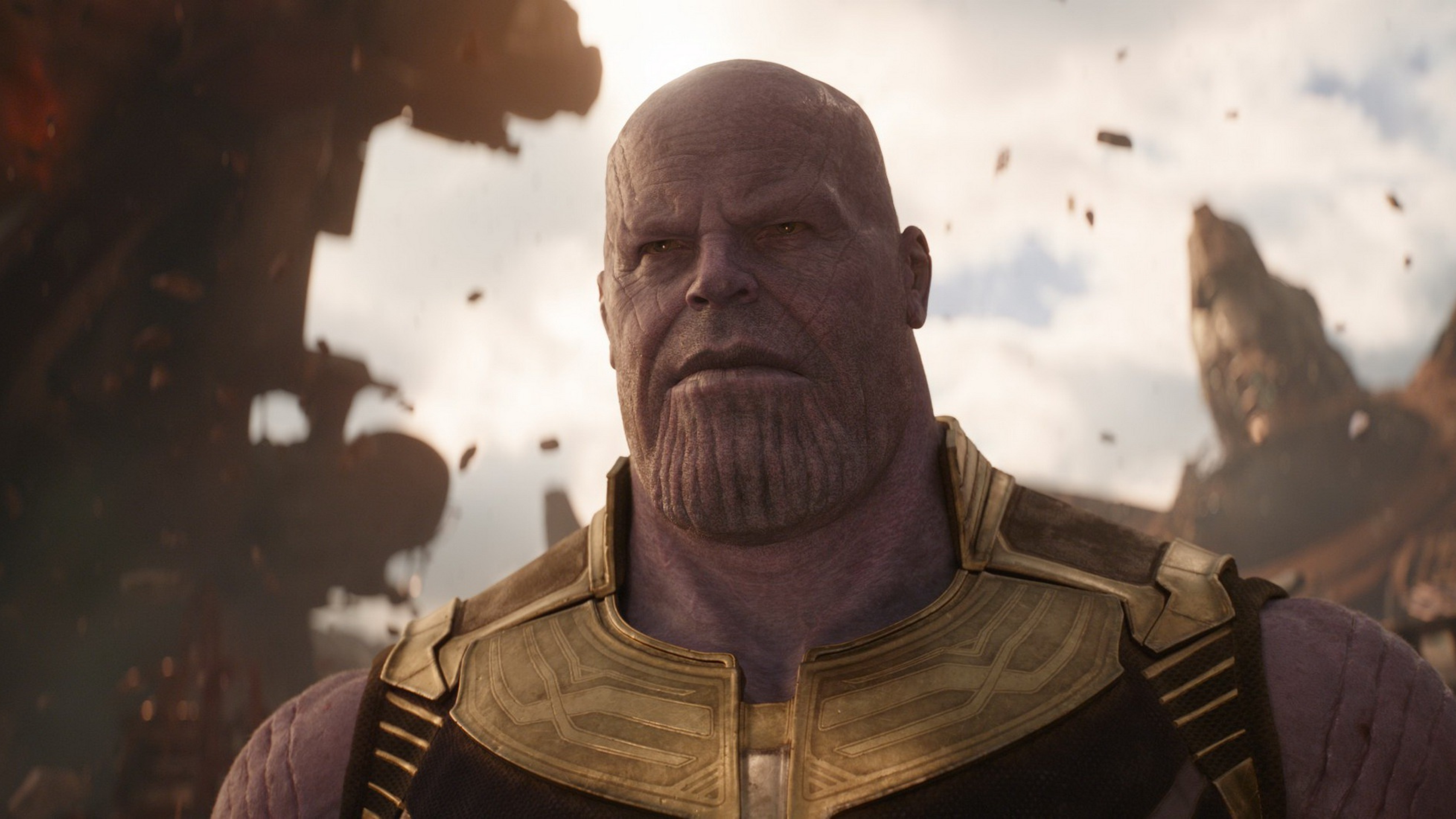 Josh Brolin As Thanos In Avengers Infinity War 2018, Full ...