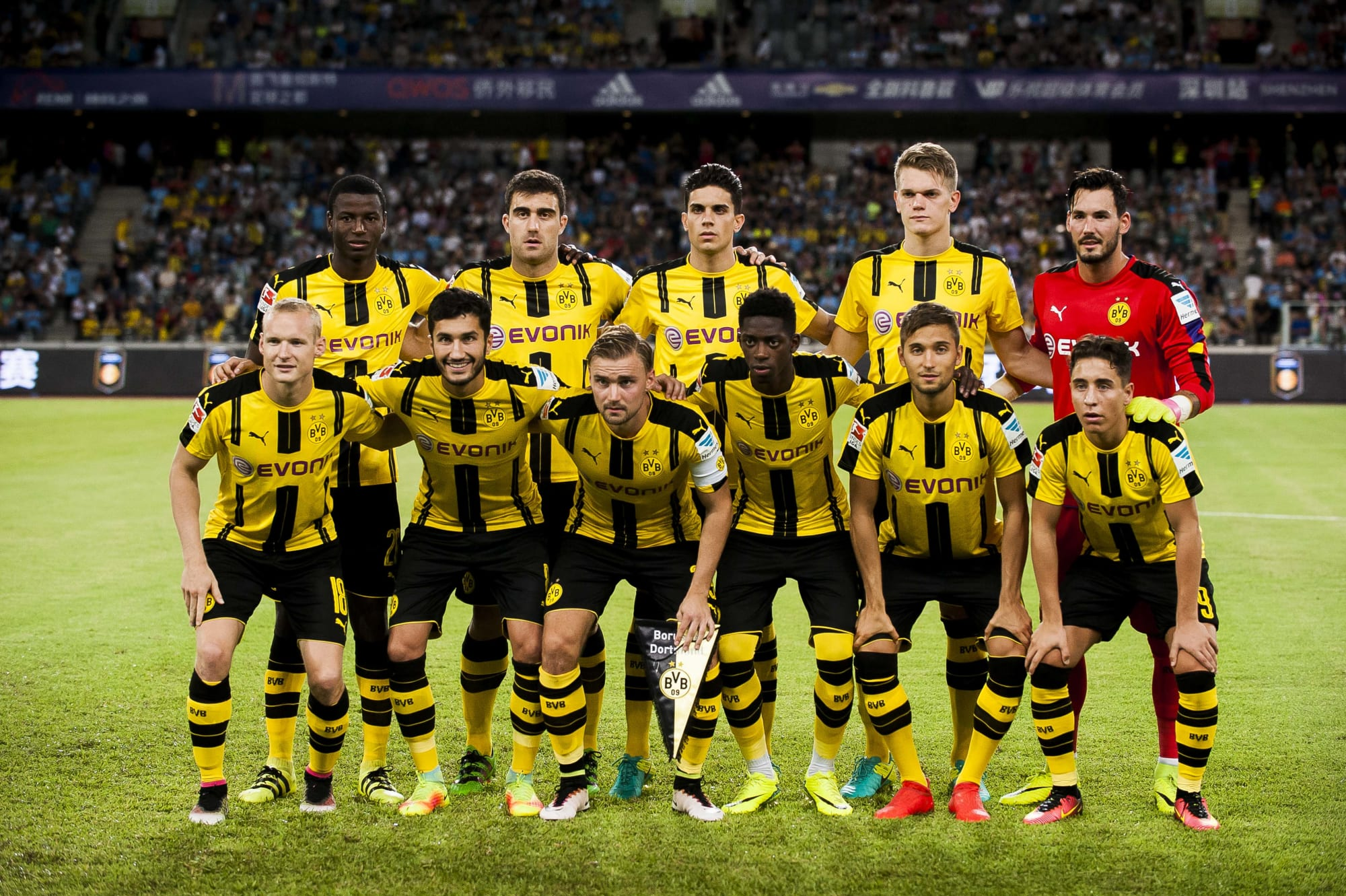 Borussia Dortmund Players on International Duty