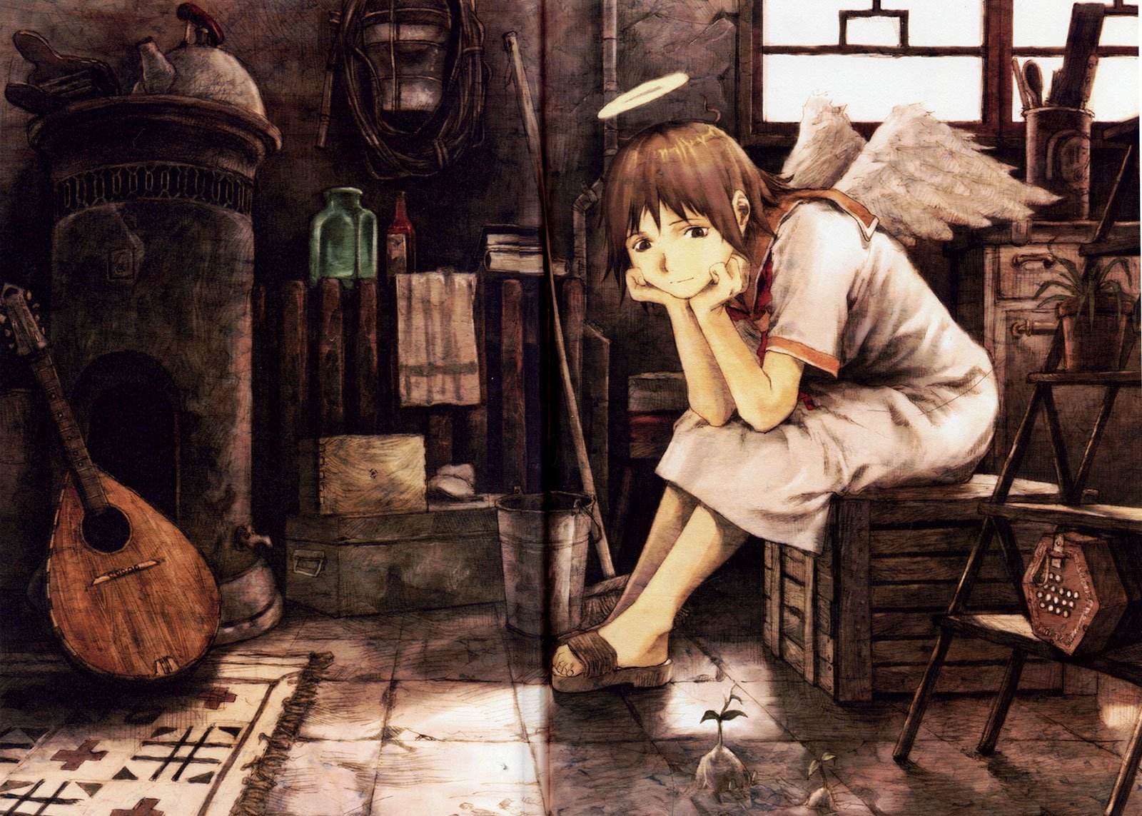 Haibane Renmei Wallpaper and Background Image   1600x1143 ...