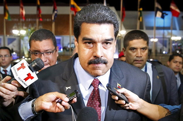 Venezuelan President Maduro says he's willing to negotiate with the US…