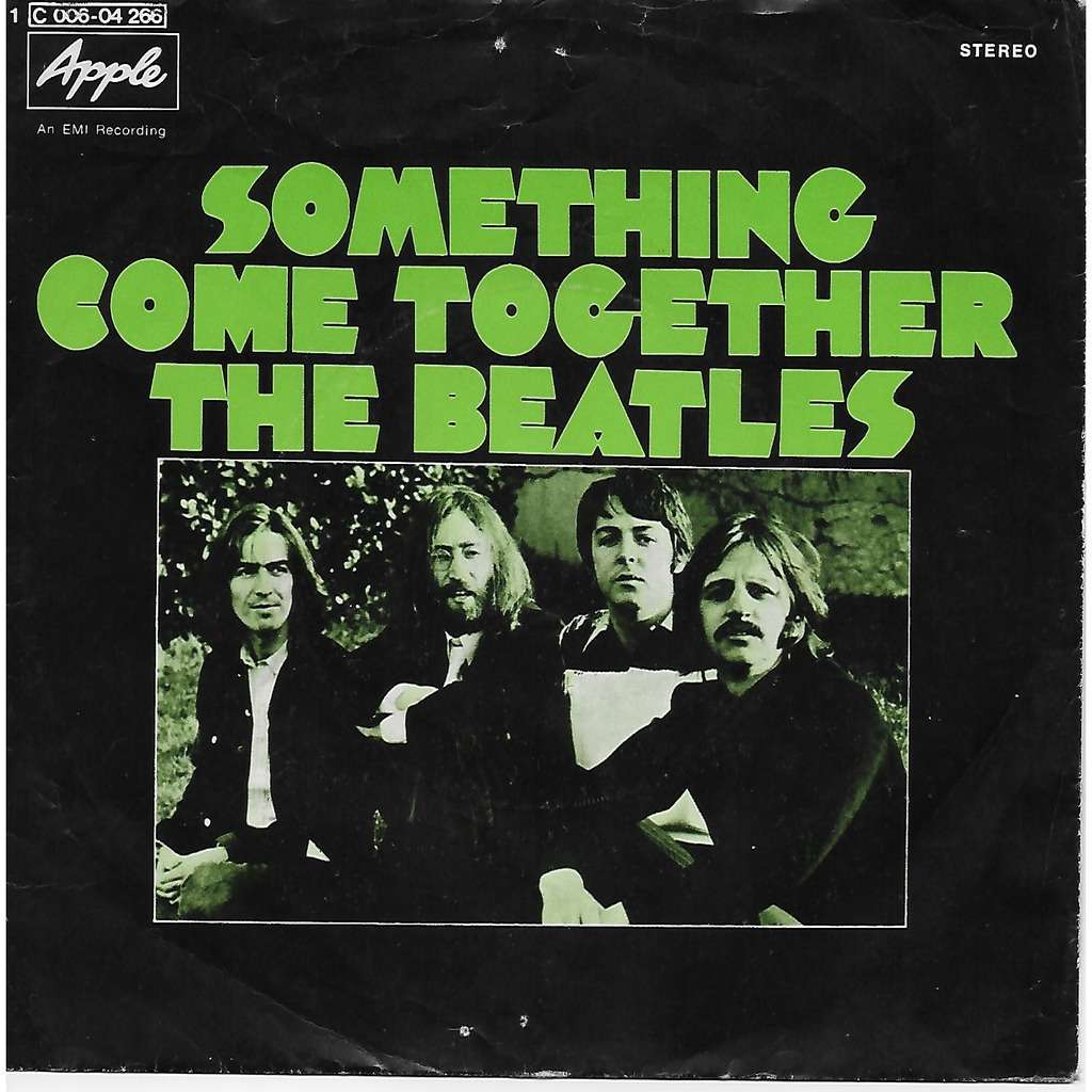 Something/come together de The Beatles, 45 RPM (SP 2 ...