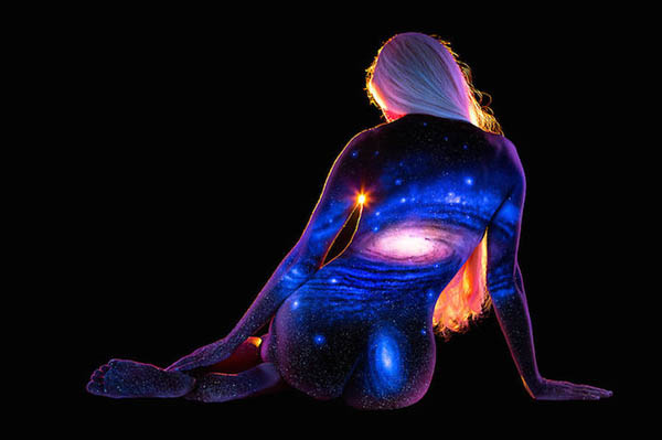 Bodyscape: Stunning Landscape Paint on Human Body which ...