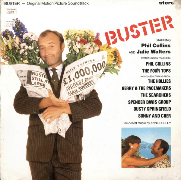 Buster - Original Motion Picture Soundtrack (1988, Vinyl ...