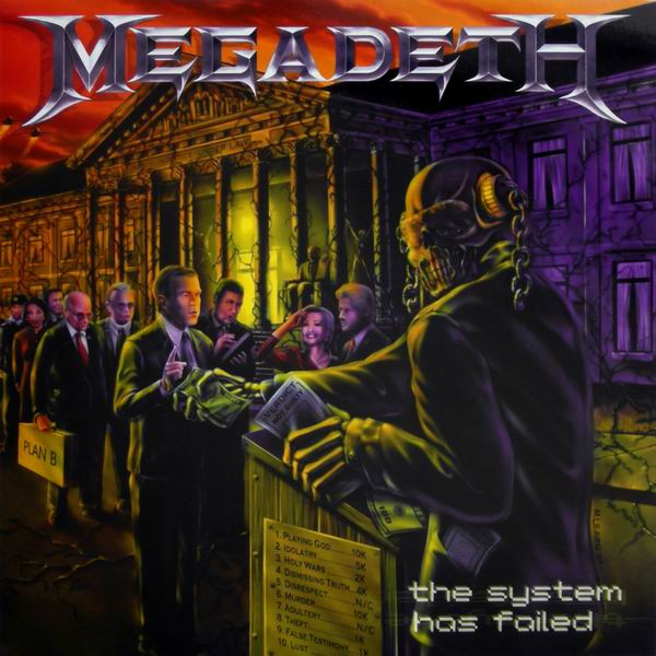 Megadeth - The System Has Failed (Vinyl, LP, Album ...