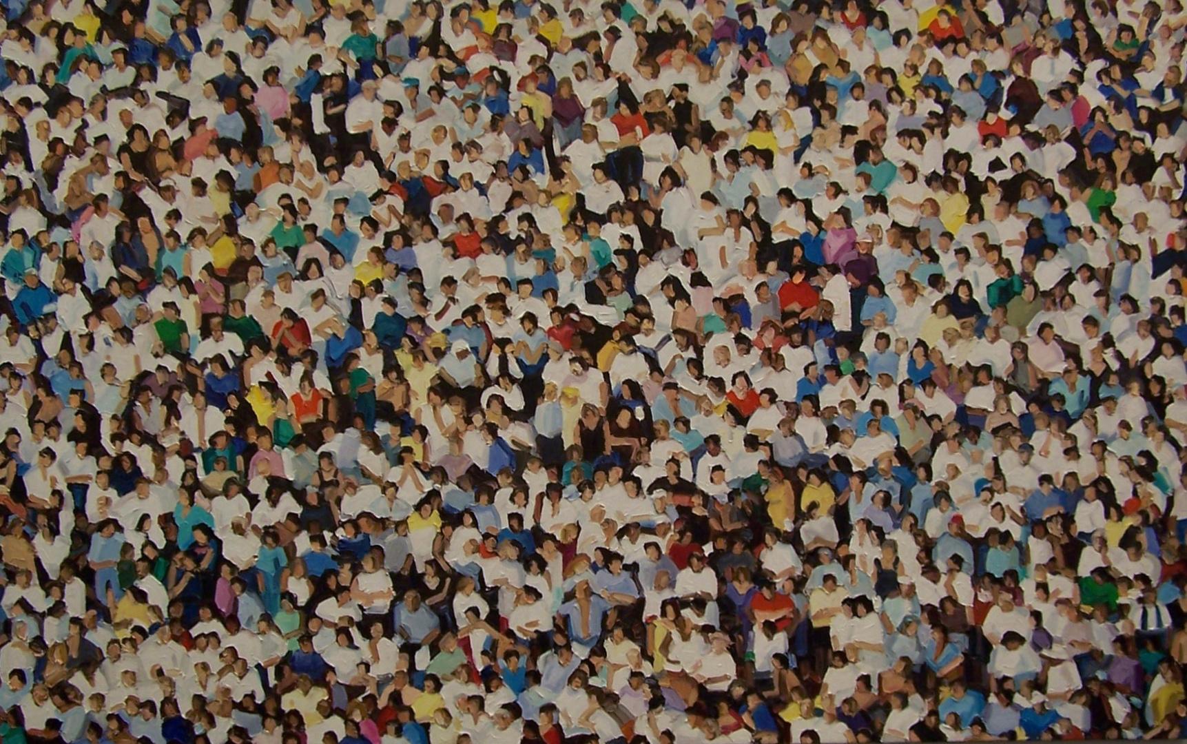 so viele Menschen ! Foto & Bild | kunstfotografie & kultur ...
