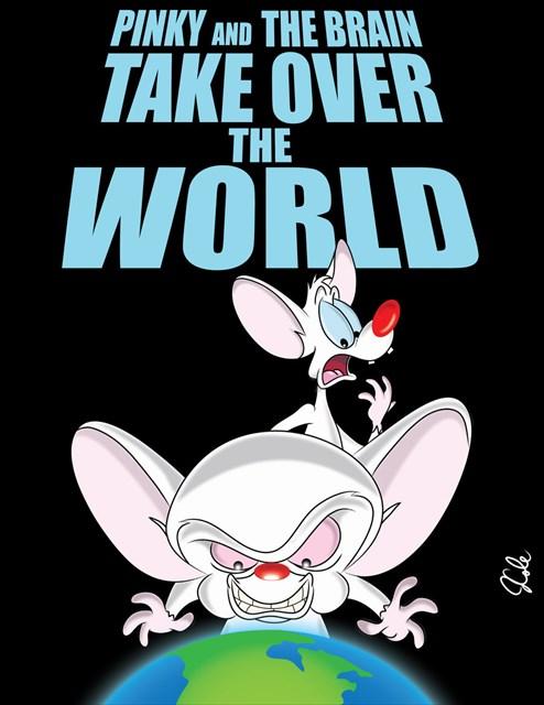 (TB5KFWM) Travel Bug Dog Tag - Pinky and the Brain's World ...