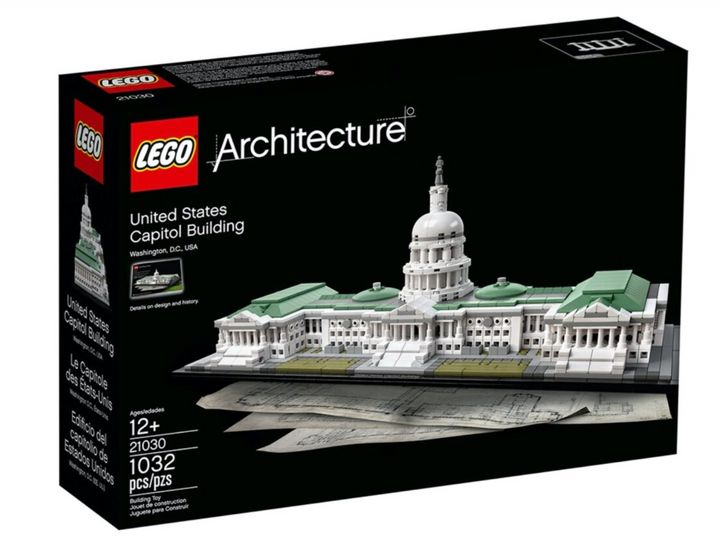 Feds Seize Lego Capitol Set From Suspected Jan. 6 ...