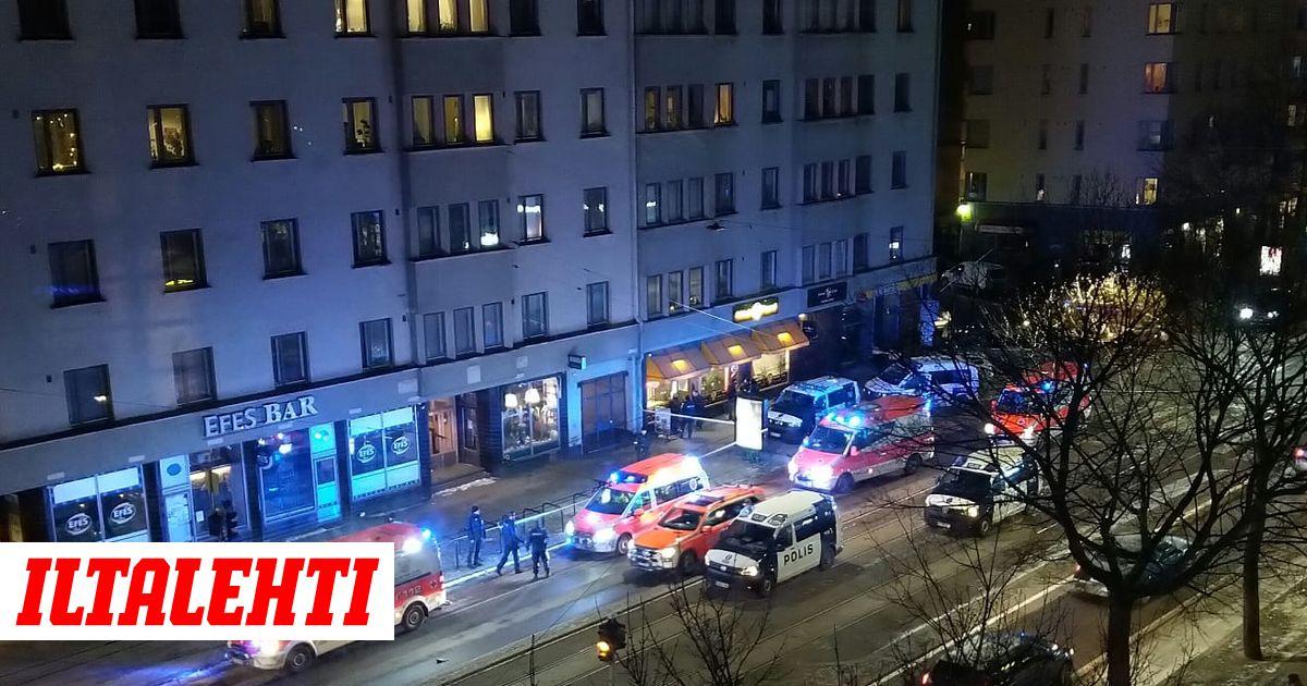 Joukkotappelu Helsingin Kalliossa - poliisilla suuri ...