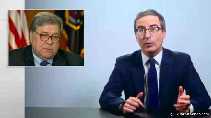 HBO's John Oliver Pulls a Chuck Todd and Uses Out of Context Video to Attack AG Barr…